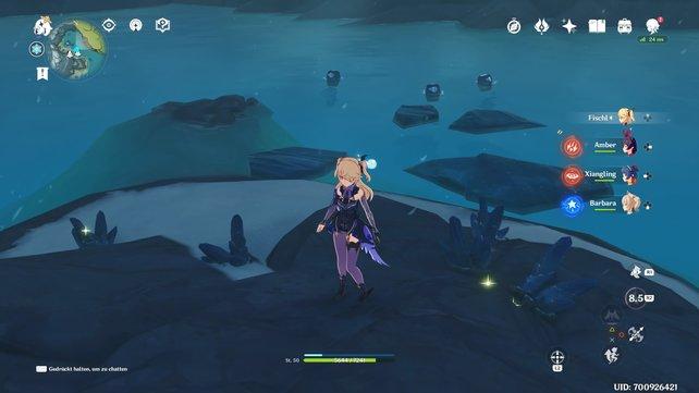 Sternsilbererz ist sehr unauffällig und verschwimmt häufig in der kargen Landschaft von Drachengrat.
