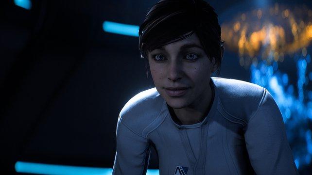 Sarah Ryder wird im Verlauf zum Pathfinder und erhält Unterstützung von der Computer-Intelligenz SAM.