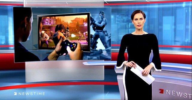 """""""Spaß am Tötungsszenario"""" nannte es ProSieben. Seriös geht anders. Quelle: ProSieben Newstime."""