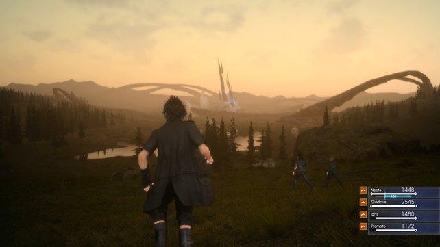 Neu in der Welt von Final Fantasy: Dynamischer Tag- und Nachtwechsel.