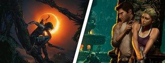 Alles nur geklaut? Wie Uncharted und Tomb Raider voneinander abgeguckt haben