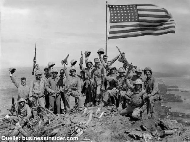 In Japan kommen einem bei der Nennung des Begriffs SOLDIER am ehesten amerikanische GIs in den Sinn.