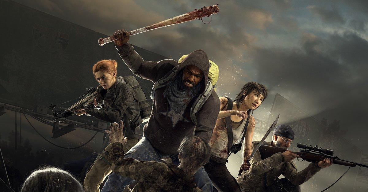 Vier The Walking Dead