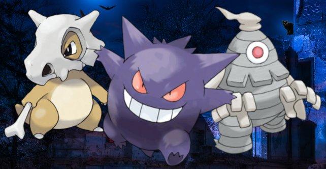 Einigen Pokémon will man nicht im Dunkeln begegnen.