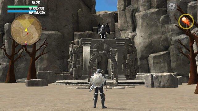 Wie The Legend of Zelda sieht Final Sword gewiss nicht aus. Aber es hat sich für einen kurzen Moment so angehört.