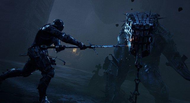 In Mortal Shell werdet ihr gegen tödliche Bestien antreten.