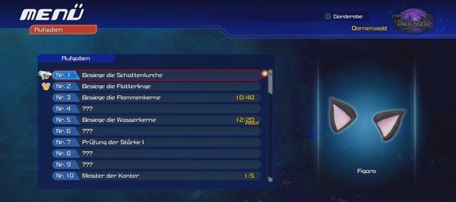 In Kingdom Hearts 0.2 - Birth by Sleep gibt es eine Menge Aufgaben und knifflige Herausforderungen.