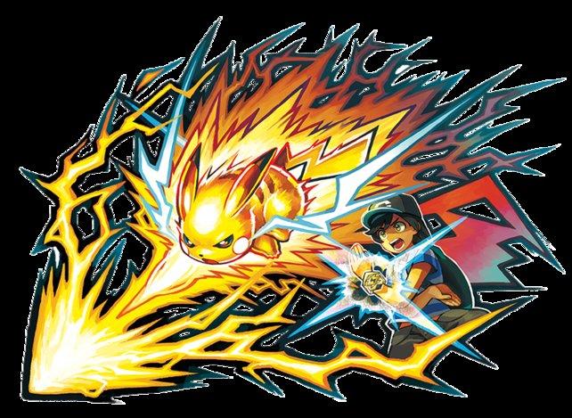 Pikachu hat seine eigene Z-Attacke: Perfektes Pika-Projektil.