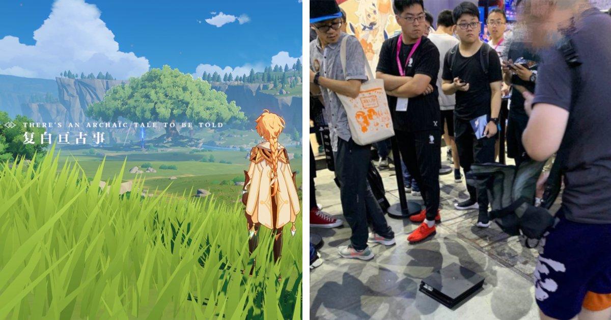 Genshin Impact - Messebesucher zerstört seine PS4 Pro vor Wut - Panorama
