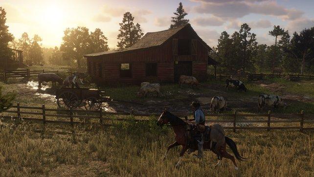 Jetzt auch endlich für den PC: Red Dead Redemption 2.
