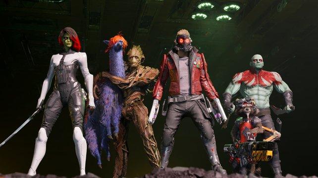 Begrüßt die Guardians of the Galaxy! (Bild: Square Enix)