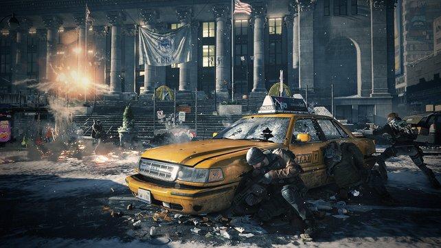 In The Division kämpft ihr euch durch ein verwüstetes New York.