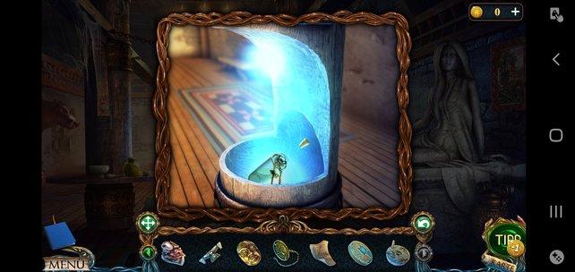 Hier könnt ihr Objekte magisch aufladen.