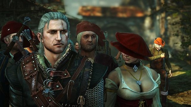 Tiefe Einblicke in The Witcher 2.