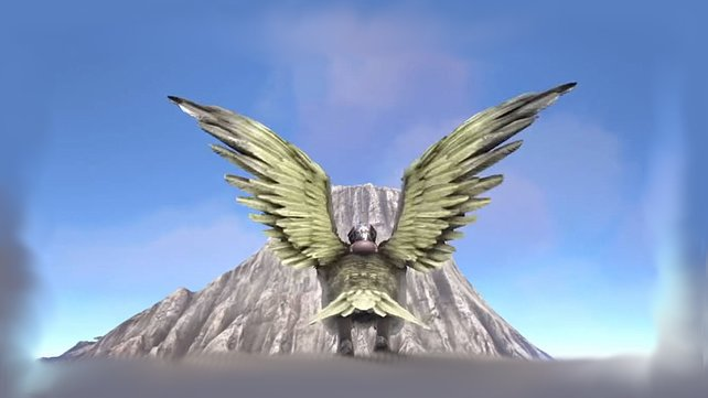 Die Bergspitzen bei ARK: Survival Evolved sind gute Lieferanten von Obsidian.