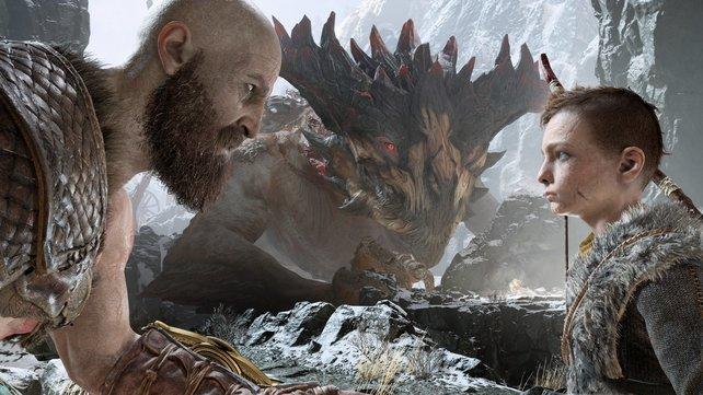 Vater und Sohn: Kratos erzieht Atreus mit strenger Hand.