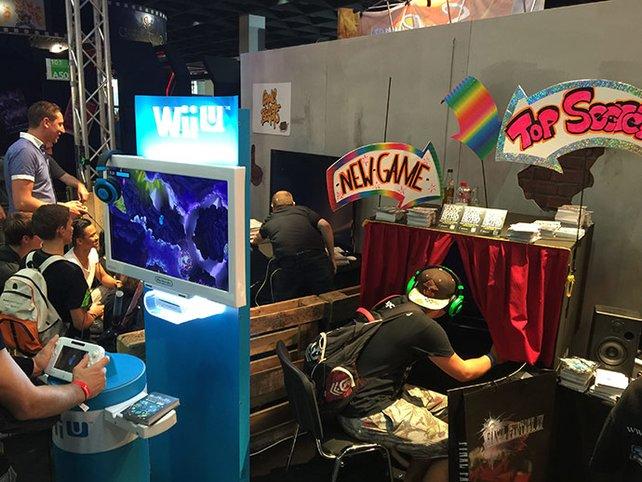 Kreativität und einzigartige Konzepte stehen bei der Indie Arene Booth im Mittelpunkt. Das ganze verpackt in eine Art Spielhalle.