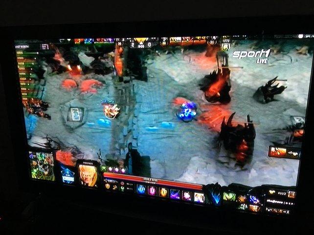 Das Finalspiel der ESL One live im Fernsehen.
