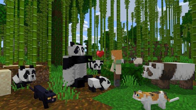 Ein süßes oder nützliches Tier in Minecraft sein Eigen nennen? Durch Zähmen ist dies einfach möglich.