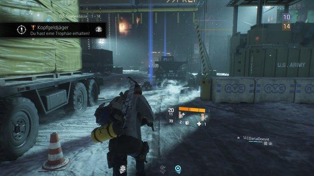 """Mit dem Vorteil """"Gefahrengüter"""" könnt ihr noch mehr Loot in der Dark Zone aufnehmen."""
