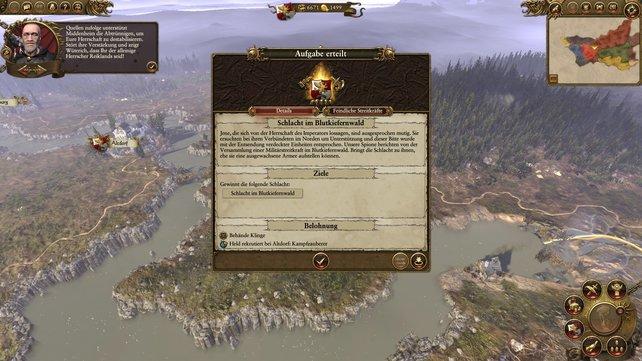 Die legendären Anführer erhalten gelegentlich Aufgaben, die mächtige Belohnungen einbringen.
