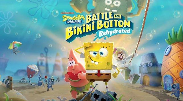 schlacht bikini bottom cheat code spongebob