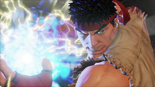 Wo Street Fighter draufsteht, ist auch Ryu drin!