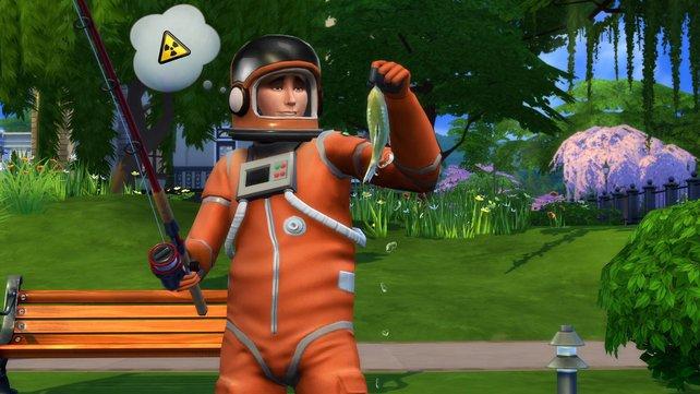 Eure Sims können auch wieder Hobbys nachgehen.