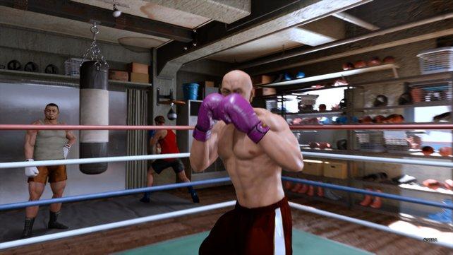 Im Boxring hilft euch dieses Mal kein Kung-Fu, sondern nur pures Krafttraining.