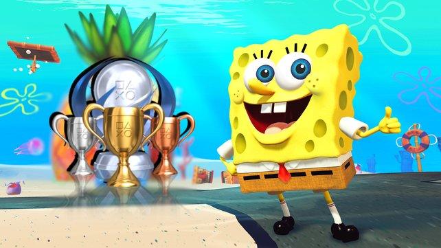 Wir zeigen euch alle Trophäen und Erfolge in SpongeBob: Schlacht um Bikini Bottom - Rehydrated.