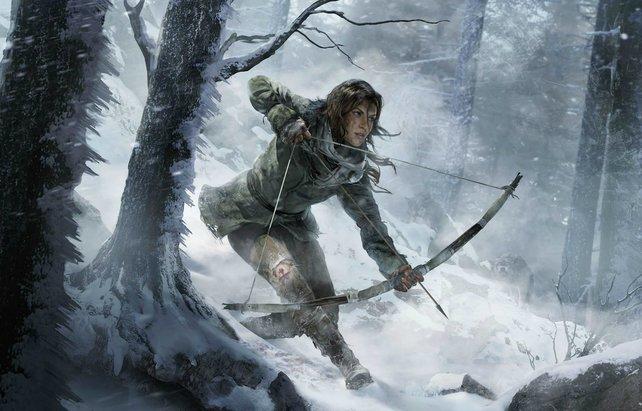 In Rise of the Tomb Raider kämpft Lara mit den Erlebnissen ihrer Vergangenheit.