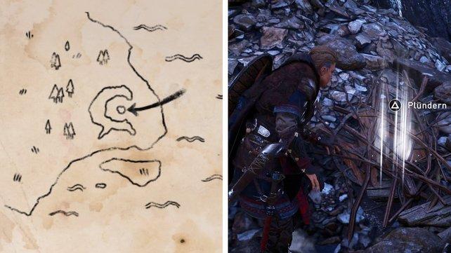 Ihr müsst die Schatzhort-Karten richtig deuten, um die gut versteckten Schätze in AC Valhalla zu finden.