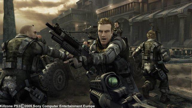 Die erste Technikdemo zu Killzone 2 verspricht überragende Echtzeit-Action, ist aber nur ein vorberechneter Film.