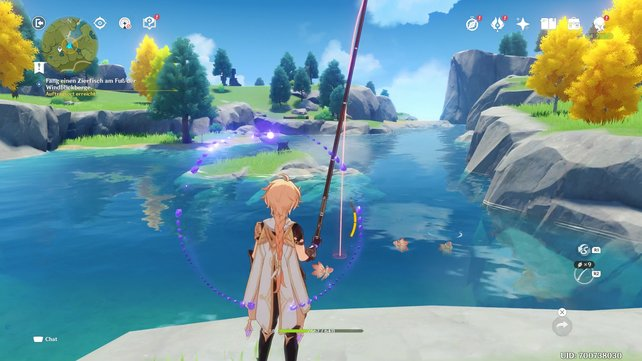 Mit dem Angeln erhält eine weitere beliebte Nebenbeschäftigung in Videospielen Einzug in Genshin Impact.