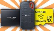 SD-Karten und SSDs zu Top-Preisen