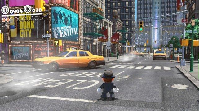 Super Mario Odyssey bietet zwar nur eine Auflösung von 900p, läuft dafür jedoch mit flüssigen 60FPS