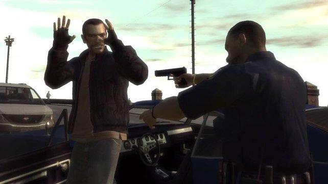 Die Cops in GTA kennen keine Gnade.