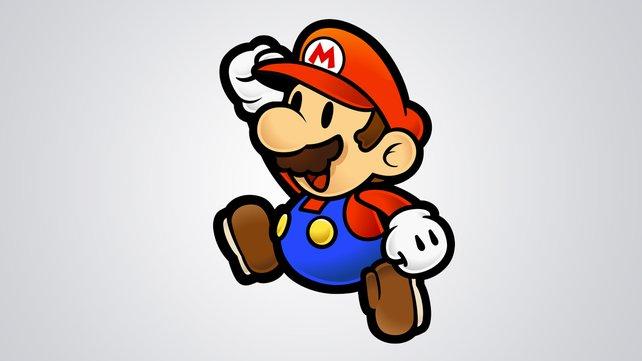 So flach und platt wie früher auf dem SNES: Paper Mario.
