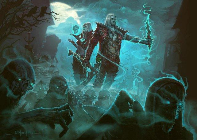 Könnt ihr in Diablo 3 demnächst Untote für euch kämpfen lassen?