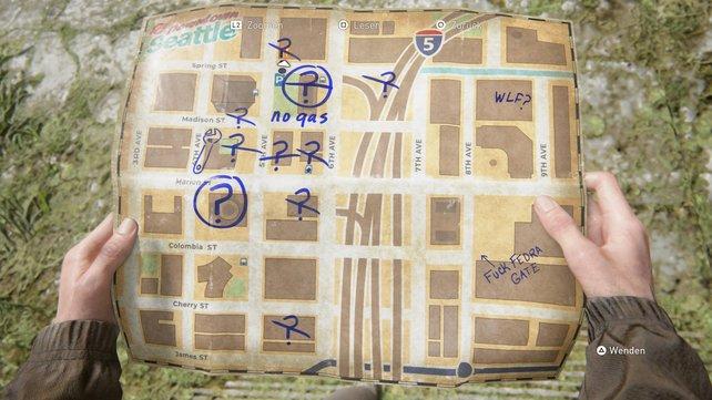 """Auf dieser Karte seht ihr alle Orte, die ihr aufsuchen müsst, um die Trophäe """"Tourist"""" zu erhalten."""