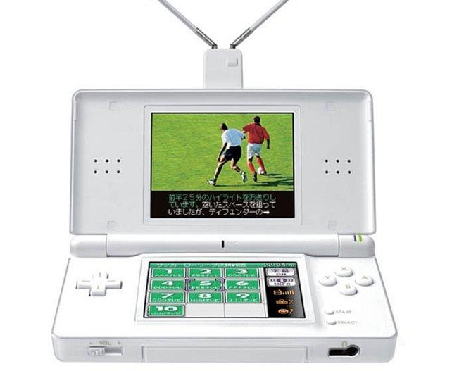 Ja, mit dem DS könnt ihr auch Fernsehsignale empfangen. Die Antennen sind aber noch viel länger, als es hier zu sehen ist.