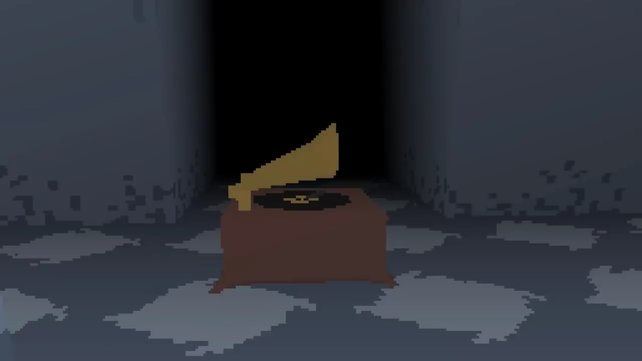 Eines der drei Grammophone, die ihr finden müsst.