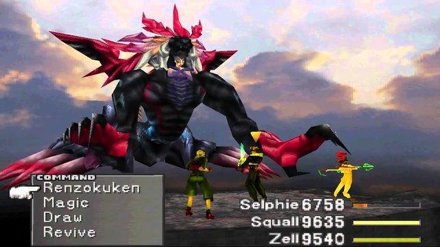 Ultimecia aus Final Fantasy 8. Wisst ihr, wie oft DIE sich verwandelt?