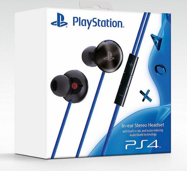 Das Headset für die PS4 ist normalerweise im Lieferumfang der Sony-Konsole eingeschlossen.