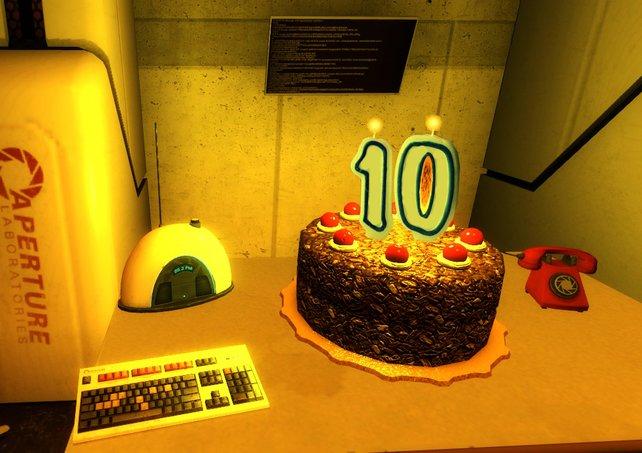 Der Kuchen ist vielleicht eine Lüge, aber dass die Portal-Spiele toll sind, das ist eine Tatsache.