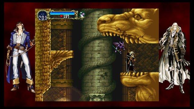 So wird die PS4-Portierung von Castlevania - Symphony of the Night aussehen.