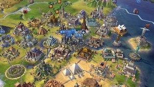 Spieler baut 34 Wunder in einer Stadt