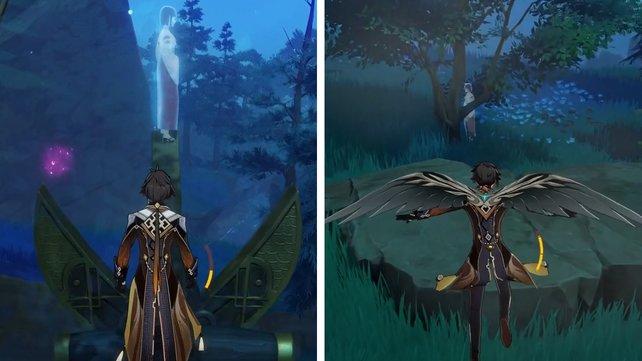 Der dritte mysteriöse Schatten hat sich die zwei besten Verstecke ausgesucht.