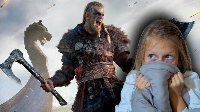 In AC Valhalla trefft ihr auf gruselige Kinder. (Quelle: Getty Images, sam thomas)