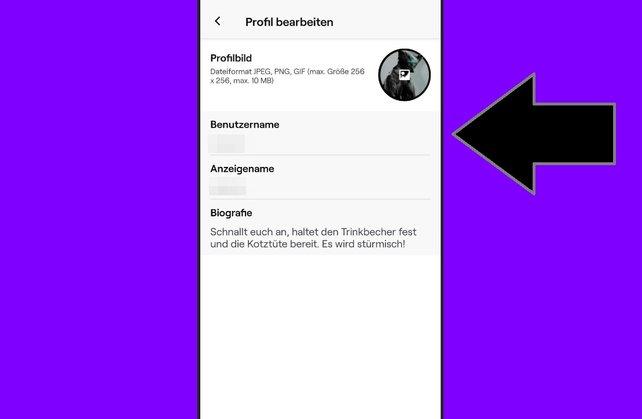 Wie kann ich bei twitch mein profilbild ändern